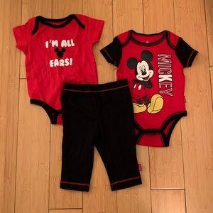 Mickey Mouse Matching Set